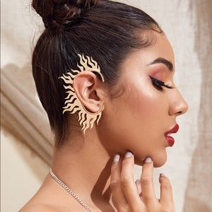 Flame Statement Earring